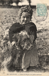 La Ferme - 21 Chien de Berger et sa petite maîtresse-1
